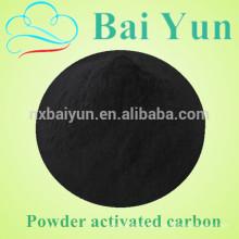 Bois charbon en poudre pour le traitement de l'eau