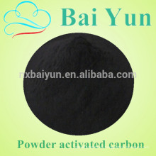 Wood powdered activated carbon for water treatment
