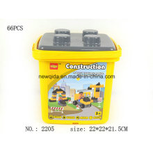 Baby Kid Children Construction Development Engineering Building Blocks Bucket