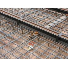 Panneau en maille soudée à mailles métalliques en béton