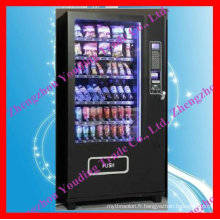nouveau distributeur automatique de bouteille et de casse-croûte