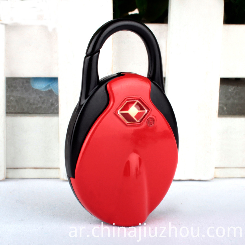 Code Resettable Combination Luggage Padlock