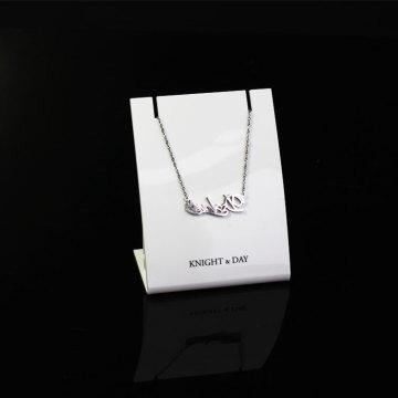 APEX Luxury Acrylic Jewelry Display Card Display Stand