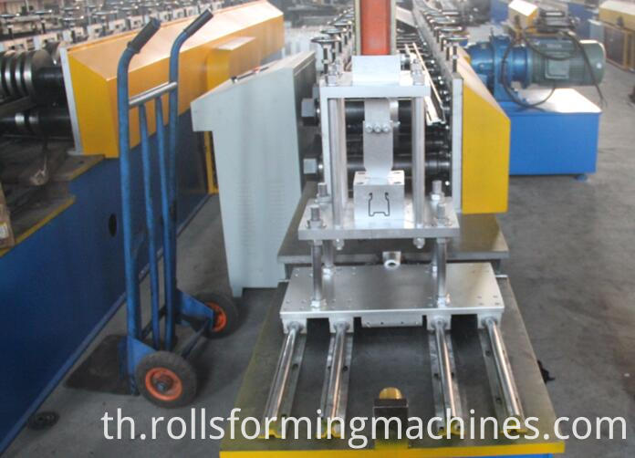 shutter door U guide machine U guide roll forming machine 5