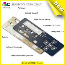 Produits de gros étiquettes de panneau de contrôle imprimé personnalisé