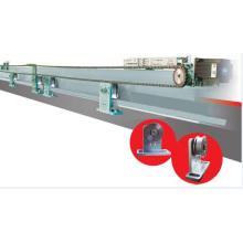 Открытие и закрытие электрического пульта управления железной дверью