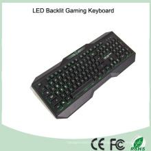 Versión en Inglés Tri-Color LED Backlight Teclados mecánicos del juego (KB-1801EL)