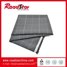 100 % polyester Plaid réfléchissant fils teints en tissu pour chemise de Grade élevé