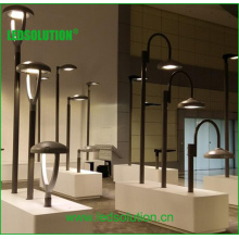 Metal Gray Aluminum Round LED Street Light with Surge Protector