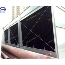 Torre de enfriamiento abierta de acero de 322 toneladas para sistemas de aire acondicionado central de VRF
