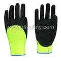 Latex Work Glove with High Visibility (LY2027)