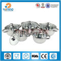10pcs surgical stainless steel cooking pot sets