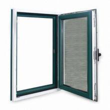 Fenêtre à battant en aluminium à panneau unique concurrentiel
