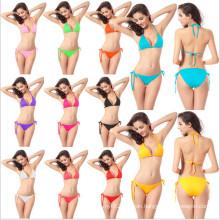 Women Printed Padded Bandeau Top Bikini