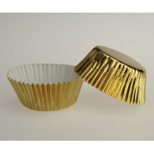 Goldfolie Backpapier Tasse