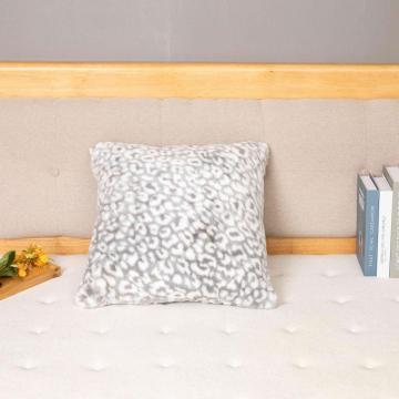 Nueva funda de cojín geométrica a cuadros de moda almohada