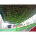 Arquibancadas do Estádio de Aço Econômico Galpão para Auditório