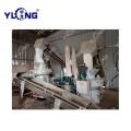 Linha de produção de resíduos de bambu