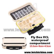 2016 nouvelle boîte de pêche à la mouche étanche