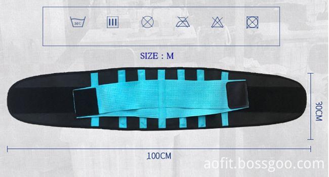 Neoprene Body Waist Belt