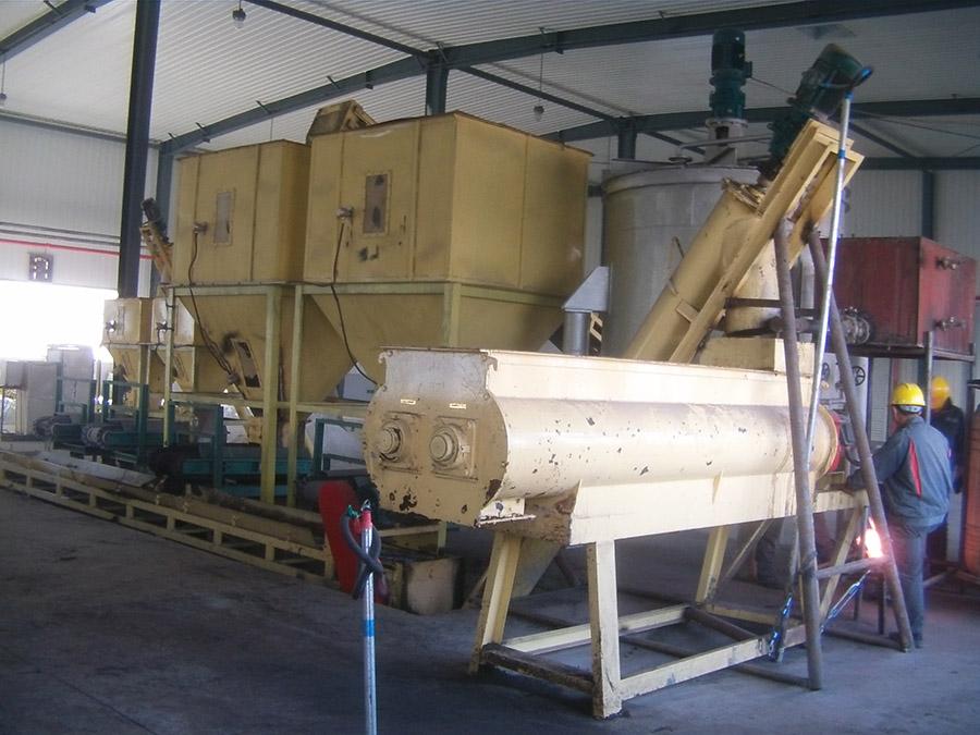 Organic Fertilizer Granulator Line