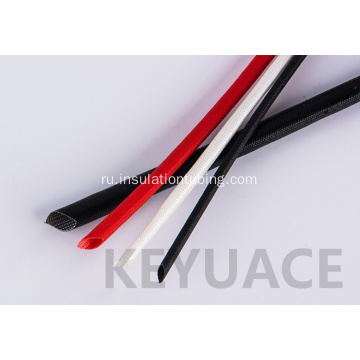 Fire Resistance Silicone Coated Braided Fiberglass Sleeve