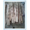 recon wood stair pillar roman column moulding