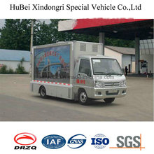 Euro4 Foton 6cbm Mobile Advertising Truck with Good Quality