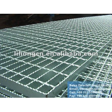 galvanized serrated floor steel grid