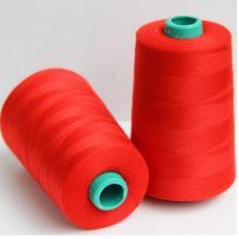 Ne 20/2 2000 ярдов 100% пряжа полиэстерная швейная нить