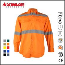 100% Baumwolle Australien Markt UPF 50+ UV-Schutz Arbeitskleidung Shirt