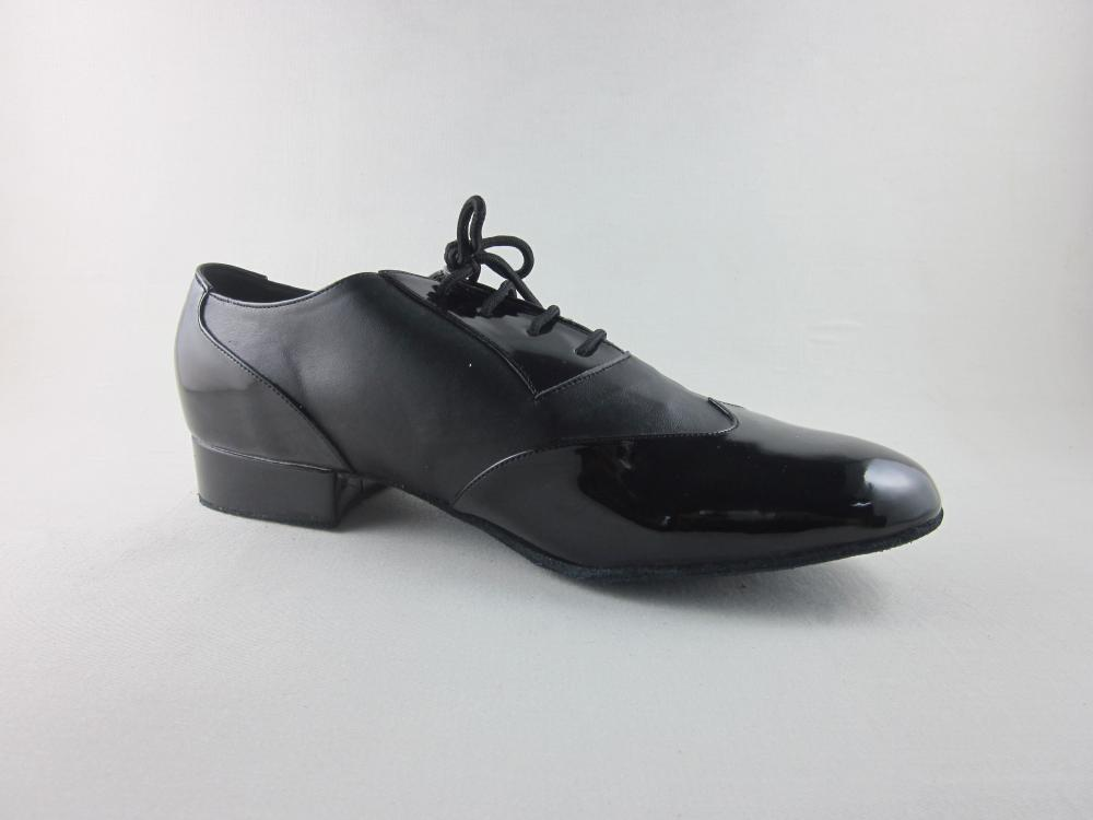 Black Ballroom Shoes Men Size 10