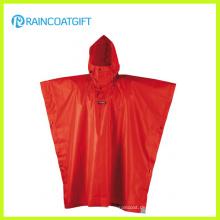 Dauerhafte Polyester PVC Herren Regenkleidung (RPE-171)
