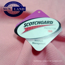 3M scotchgard moisture management mesh sportswear fabric
