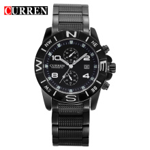 waterproof quartz watch wholesale curren trend design
