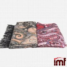 Paisley Fashionable Cashmere Shawl Blanket