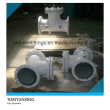Filtros de válvulas con brida de acero al carbono ANSI
