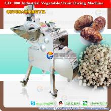 Machine à couper les légumes en tranches pour traiter la carotte coupée, la pomme de terre, le taro, les fruits, l'oignon, la mangue, l'ananas, la pomme, le jambon, le giantarum et la papaye