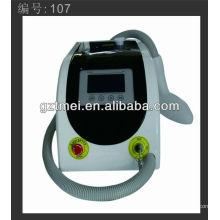 Profesional láser portátil pelo removedor de máquina para la cara y el cuerpo