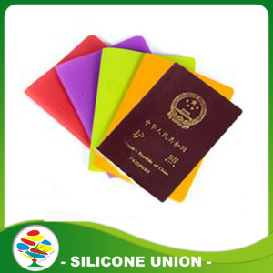 Personalized Waterproof Silicone Passport Cover for Travel