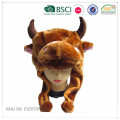 Custom Kids Cow Short Animal Hat