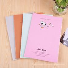 Estudantes Notebook Cartoon Custom Softcover Exercise Books Printing