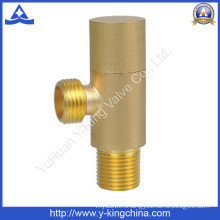 Brass Angle Valve with Sand Blasted (YD-5022)