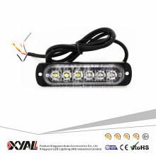 18W Autozubehör LED Warnung Strobe Light 12V super dünnes LED-Licht für Motorrad SUV Fahrrad