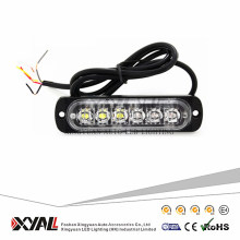 18W Accesorios para automóviles LED de advertencia Luz estroboscópica 12V Luz super delgada LED para motocicleta SUV Bicicleta