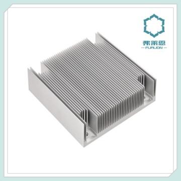Fregadero de aluminio de la caja de la extrusión