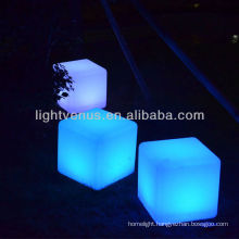 40cm led cube light / led color change cube