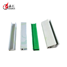 wholesale reinforced Pultrusion R Shaped frp tube