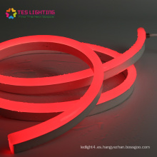 Tira de luz LED RGB / W regulable de neón Flex de calidad
