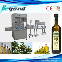 Auto Cooking Oil Bottling Capping Machine